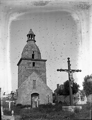old bell-tower in Lancieux