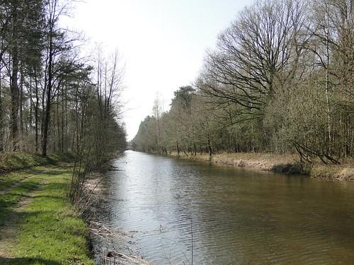 Channeled Beerze river