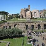 Tempio di Venere e Roma & piazza di S Francesca Romana - https://www.flickr.com/people/9851528@N02/