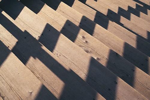 repeating shadows