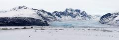 Gletscherzunge in Island