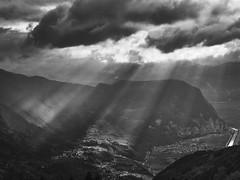 Etschtal - Ausicht von Gfrill - Südtirol