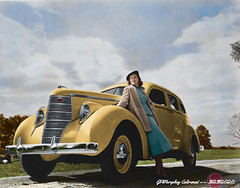 Studebaker Automobiles - Colorized
