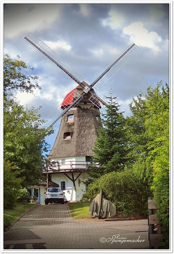 Wohn-Windmühle