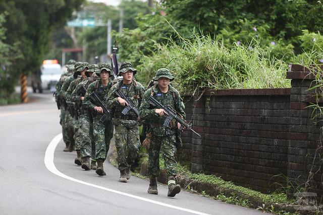 特二營短期行軍訓練20200323