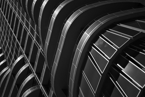 Houston High Rise Apartments, view 2 (infrared)