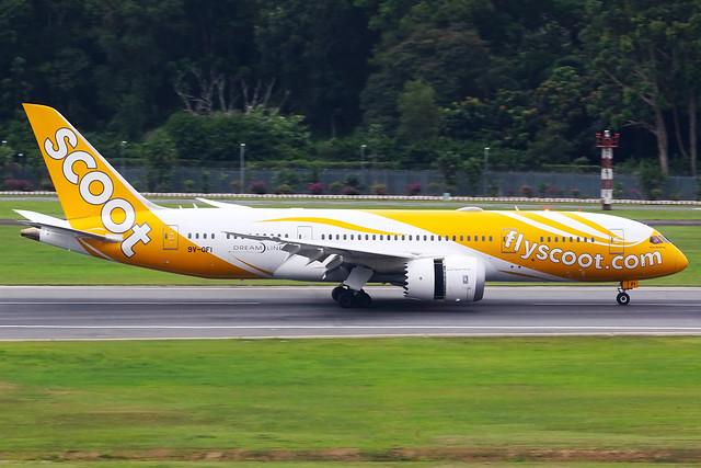 Scoot   Boeing 787-8   9V-OFI   Singapore Changi