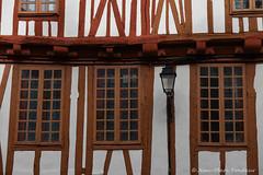 Vannes : maisons à pans de bois