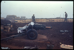 """""""A 105mm from Bravo battery 1/13"""", Khe Sanh, February/March 1968"""