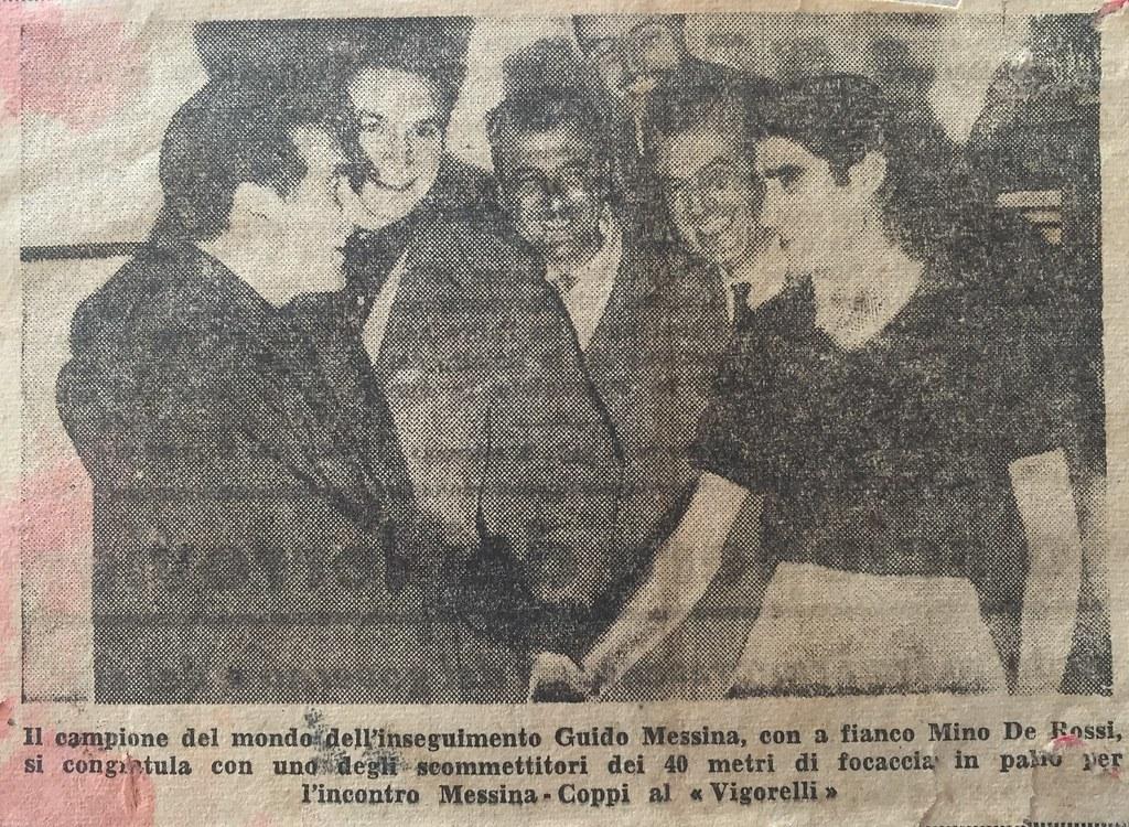 De Rossi Mino - sfida con Coppi (collezione Filippo Baldi)
