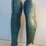 Etruscan bronze greaves from Vulci - https://www.flickr.com/people/7945858@N08/