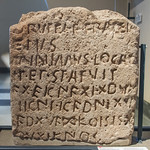 Bilingual Latin-Gaulish stele from Todi, Umbria, face A - https://www.flickr.com/people/7945858@N08/