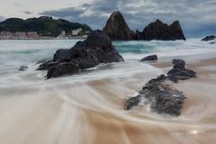 Playa de Saturraran.