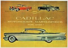 1958 Cadillac Announcement
