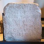 Bilingual Latin-Gaulish stele from Todi, Umbria, face B - https://www.flickr.com/people/7945858@N08/
