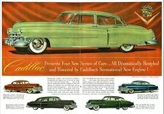 1950 Cadillac Announcement