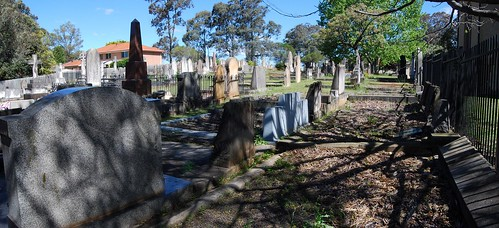 St. Mary Magdalene's Anglican Church Cemetery, St Marys, Sydney, NSW.