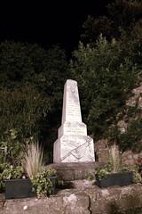 FR11 5619 WWI memorial. Minerve, Hérault