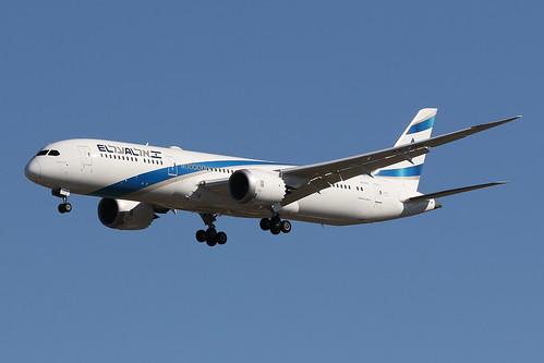 4X-EDI  El Al Boeing B787-9 Dreamliner