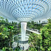 Rain vortex, the world's tallest indoor waterfall - The Jewel Changi Airport (Singapore)
