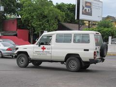 Jamaica Red Cross Toyota Land Cruiser