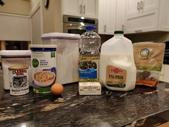 Ingredients Set On Table