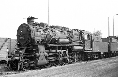 DR 58 1359 (ex P.St.B. G 12 5609 Frankfurt; Borsig 1920) Bw Glauchau