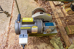 Winch for the boat house