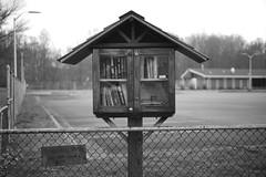 Tiny free library