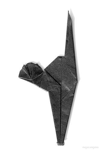 Origami Cat (Fred Rohm)
