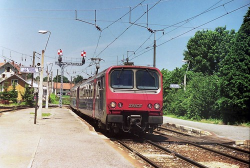 SNCF 9636 at La Roche sur Foron