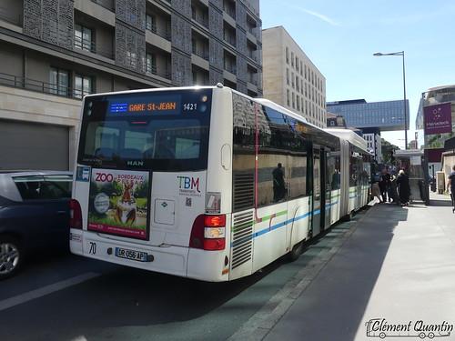 MAN Lion's City G CNG - 1421 - Keolis Bordeaux Métropole