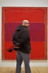 Scott @ MOCA - in front of Rothko