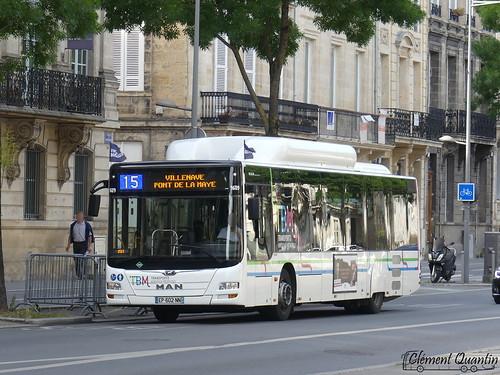 MAN Lion's City CNG - 1609 - Keolis Bordeaux Métropole