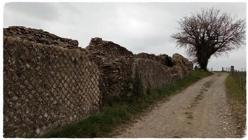 Vestiges de l'Aqueduc Romain du Gier