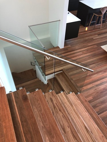Spotted Gum New Staircase double thickness cut stringer in Caringbah