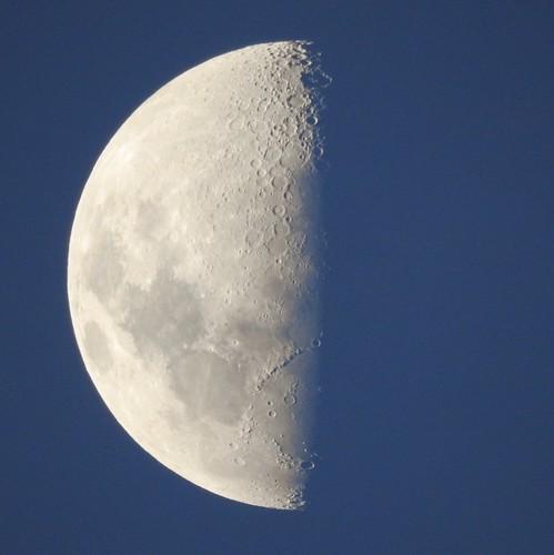 Meia lua inteira parte 2 #moon #lua