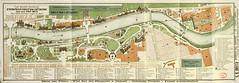 Plan de l'Exposition internationale de 1911 à Turin (Italie)