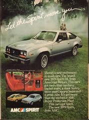 1979 AMC Spirit Advertisement Playboy November 1978