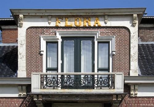 Akkrum: villa Flora balcony