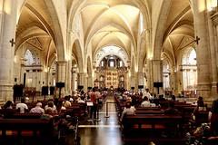 Valencia cathedral - Plaça de l'Almoina
