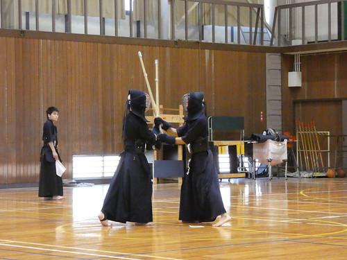 Kendo à l'université de Yamaguchi