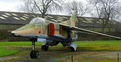 "MiG-27K ""Flogger"", Newark Air Museum, Nottinghamshire."
