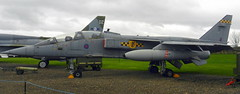 Sepcat Jaguar T.2A, XX829, Newark Air Museum, Nottinghamshire.