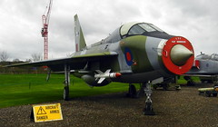 English ElectricLightning T.5, XS417,  Newark Air Museum, Nottinghamshire.