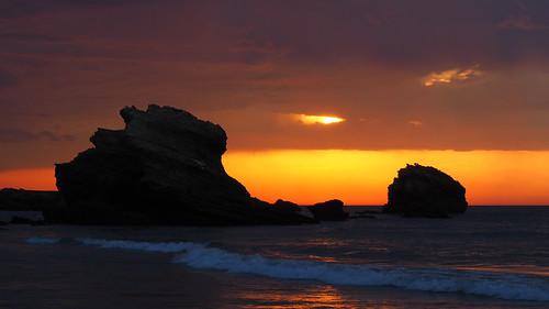Rocks in Silhouette