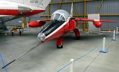 Folland Gnat T.1, XR534, Newark Air Museum, Nottinghamshire.