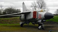 "MiG-25ML ""Flogger"", Newark Air Museum, Nottinghamshire."