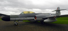 Gloster Meteor NF.1, WS739, Newark Air Museum, Nottinghamshire.