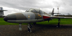 Hawker Hunter T.7, XX467 (formerly XL605), Newark Air Museum, Nottinghamshire.